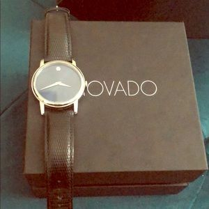 Movado watch- perfect addition for any wardrobe.